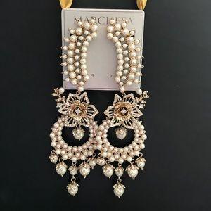 """Marchesa earrings """"Eternal Garden"""""""